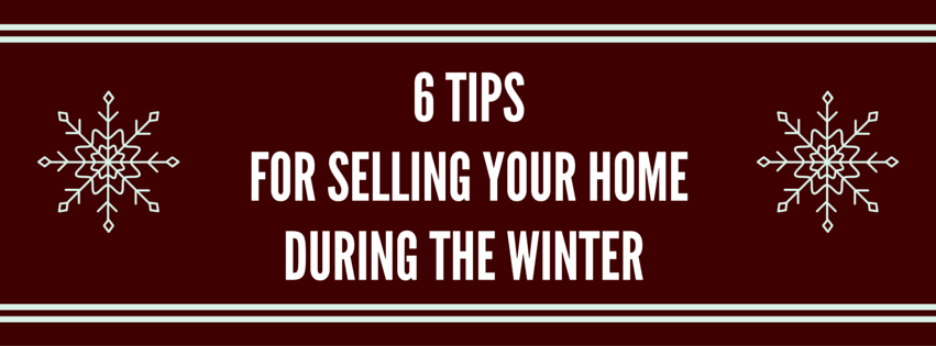 Selling Your Home During the Winter
