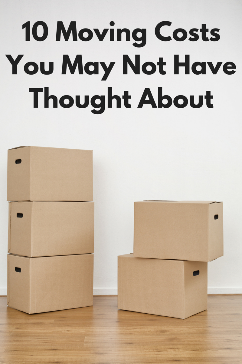10 Moving Costs You May Not Have Thought About