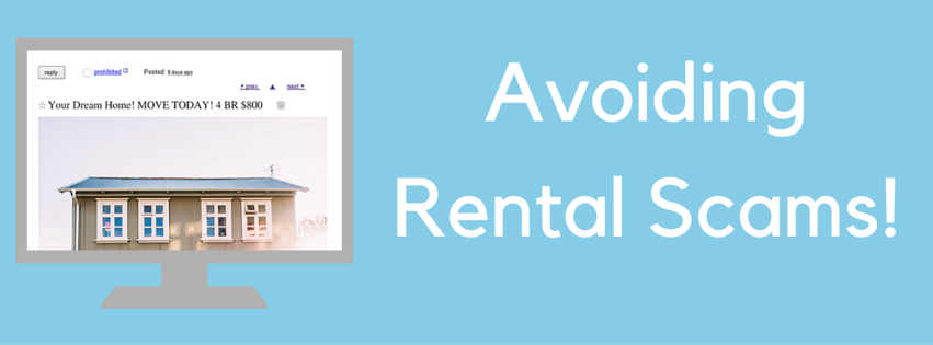 Avoiding rental scams